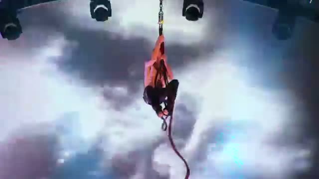 Timber Brown - Spinning Wet Rope Act - America's Got Talent 2013