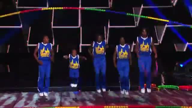 Chicago Boyz - Acrobatic Team Dazzle With a High Jump Rope - America's Got Talent 2013