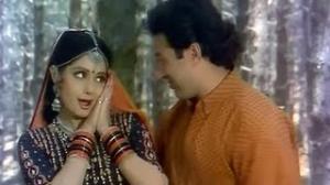 Saara Saara Din Tum Kaam Karoge - Hindi Fun Song - Sridevi, Sunny Deol - Nigahen (1989)
