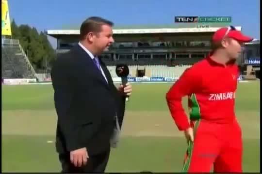 Pakistan vs Zimbabwe 2nd ODI Highlights (29 August 2013) Part1