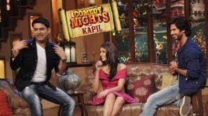 Shahid Kapoor & Ileana Dcruz on Comedy Nights with Kapil Sharma