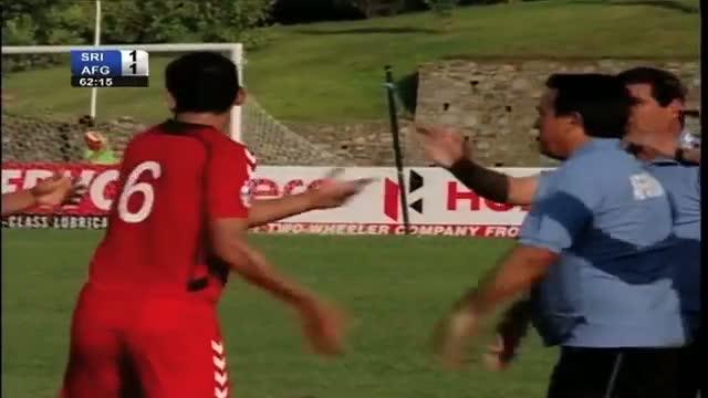 Sri Lanka vs Afghanistan (Highlights) SAFF Championship 2013