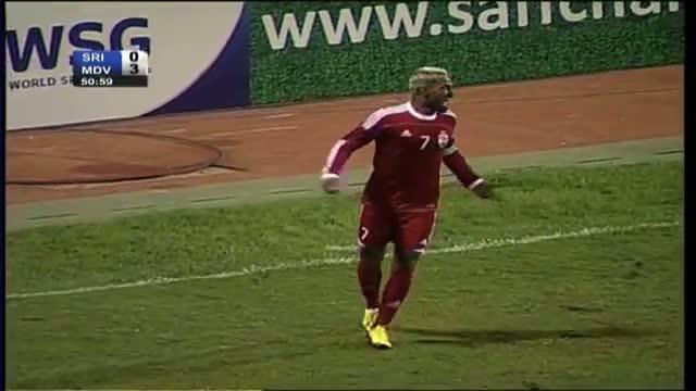 Maldives vs Sri Lanka (Highlights) SAFF Championship 2013