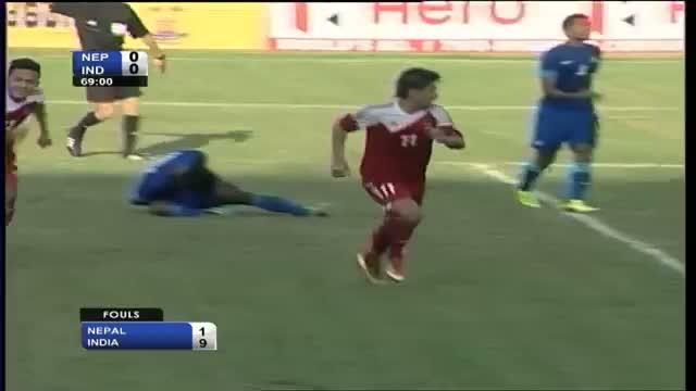 India vs Nepal (Highlights) SAFF Championship 2013