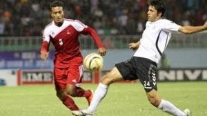 Nepal vs Afghanistan (Highlights) - Semifinal 1, SAFF Championship 2013