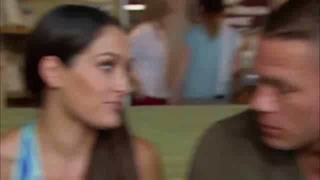 WWE: John Cena urges Nikki Bella to get her injury checked out: Total Divas, Sept. 8, 2013
