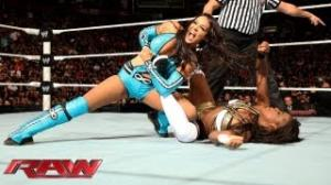 WWE Raw: Natalya & Naomi & Brie Bella vs. Layla & Alicia Fox & Aksana - Sept. 9, 2013