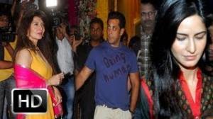 Katrina Kaif Ignored At Salman Khan's Ganpati Celebrations