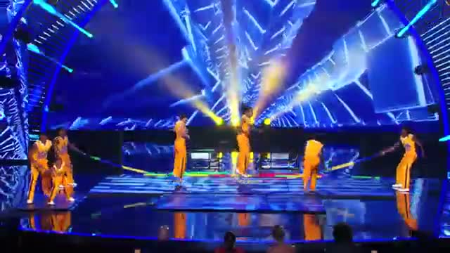 The Chicago Boyz - High-Flying Five- Person Pyramid Jump Rope - America's Got Talent 2013