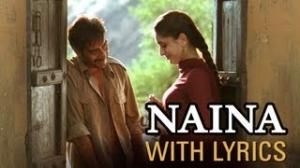 Naina Song With Lyrics - Omkara