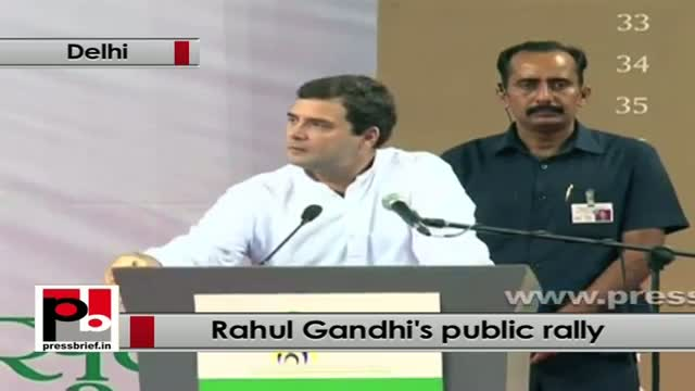 Rahul Gandhi: Congress is now focussing on ensuring rights of the people