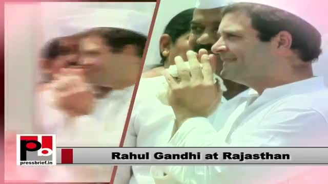 People of Rajasthan give a rousing welcome to Rahul Gandhi