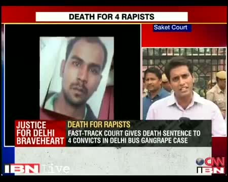 Delhi gangrape-murder case: Court sentences all four convicts to death