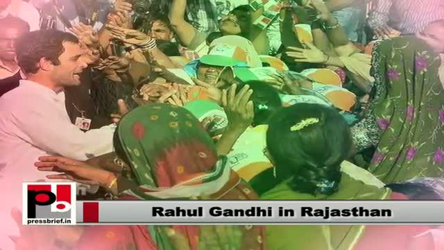 Rahul Gandhi in Rajasthan: I want to crush my dream to make your dreams mine