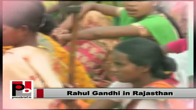 Rahul Gandhi in Rajasthan: Congress committed to empower tribals, adivasis
