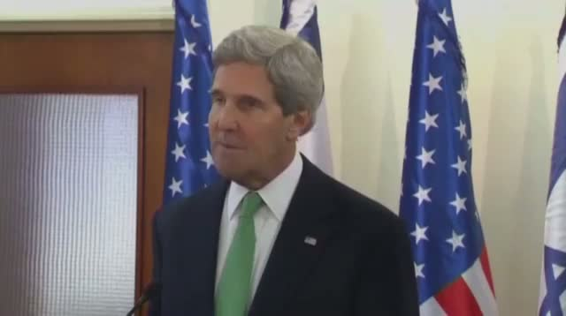 Kerry to Syria: 'Threat of Force Is Real'
