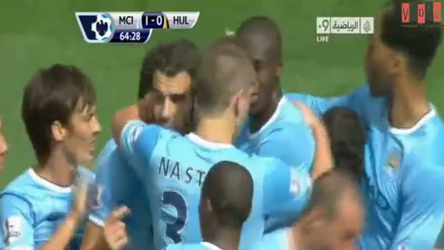 Negredo Vs Hull City 2013 (manchester city vs hull city 2-0 2013)(31-8-2013) HD