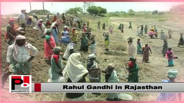 Rahul Gandhi in Rajasthan: Congress is committed to ensure welfare of the poor
