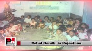 Rahul Gandhi in Rajasthan: Food Security Bill ensures that no one sleeps hungry in our country