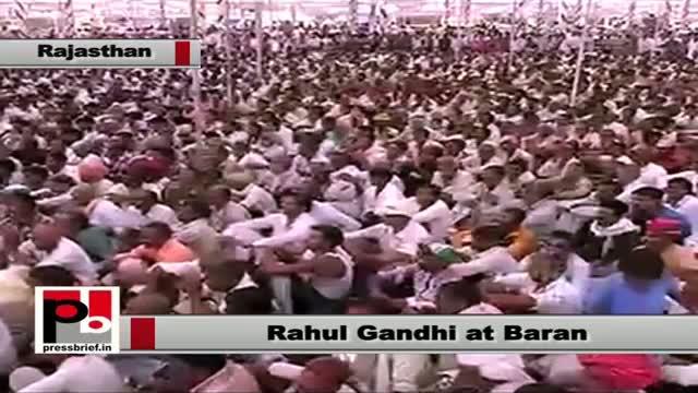 Rahul Gandhi in Baran (Rajasthan) lauds Gehlot Govt's free-medicine-for-poor scheme