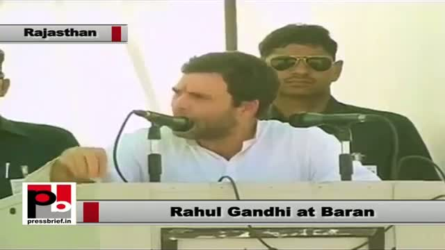 Rahul Gandhi in Baran (Rajasthan): Congress fulfils what it promises