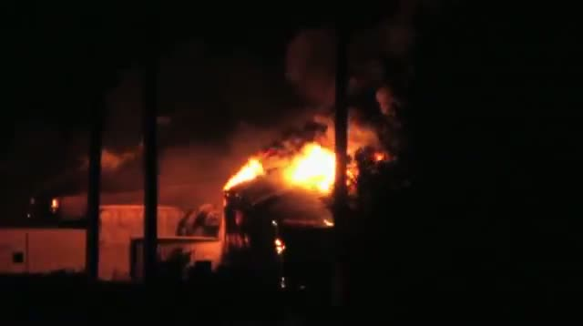 Fire, Explosions at Oklahoma Chemical Plant