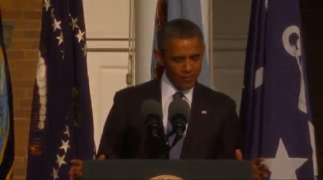 Pres. Obama Memorializes Navy Yard Victims
