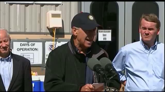 Biden: Gov't Shutdown Would Not Affect Colo