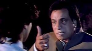 Kader Khan's Best Performance - Saif Ali Khan gets slapped hard scene - Aashiq Aawara (1993)