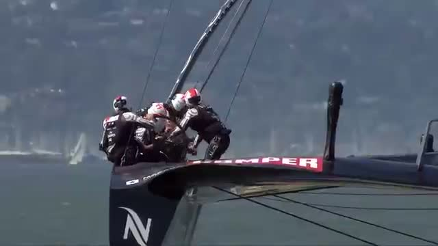 Americas Cup 2013: Battle for the Cup: Race Day 14