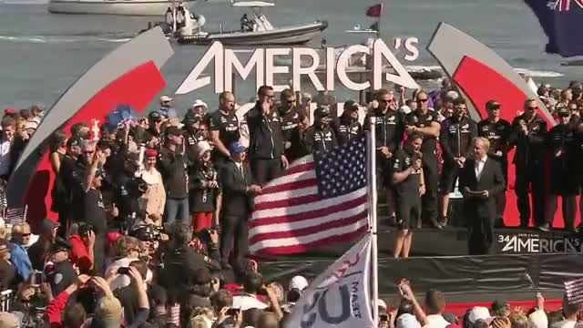 Americas Cup 2013 - Ellison: 'This regatta has changed sailing forever'