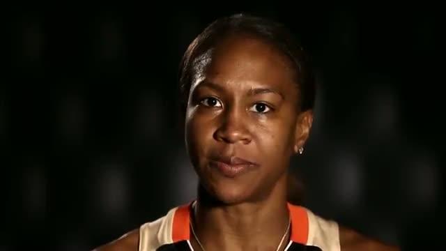 Athletes of the WNBA: Confidence