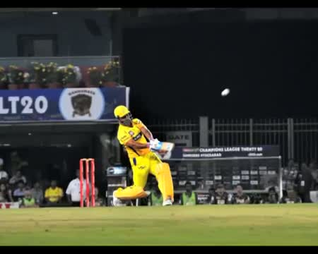 Dhoni scores fastest 50 hits 5 sixes in 1 over