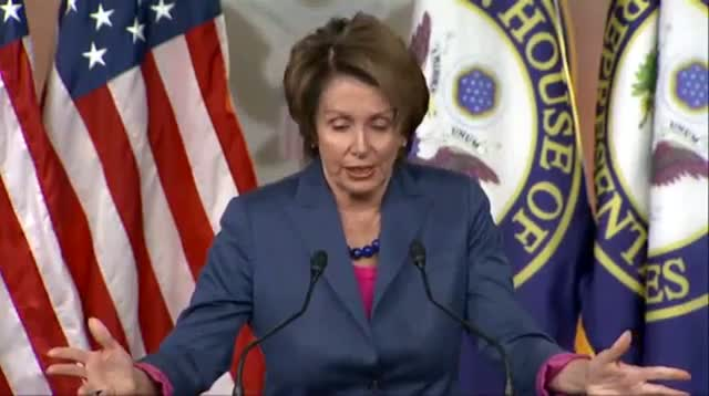 Pelosi: GOP Ideology a 'luxury' We Can't Afford