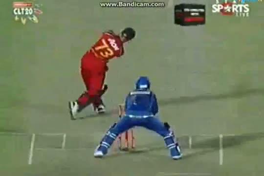 Mumbai Indians vs Highveld Lions Match - CLT20 2013 - 27 Sep 2013 - Match 11 - Part5