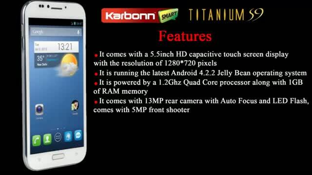 Karbonn Titanium S9 Leaked Review