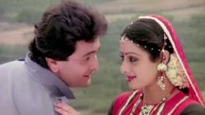 Tu Ne Bechain Itna Ziada Kiya - Sridevi, Rishi Kapoor - Superhit Romantic Hindi Song - Nagina (1986)