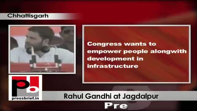Rahul Gandhi in Chhattisgarh strikes a chord with the Tribals in Bastar