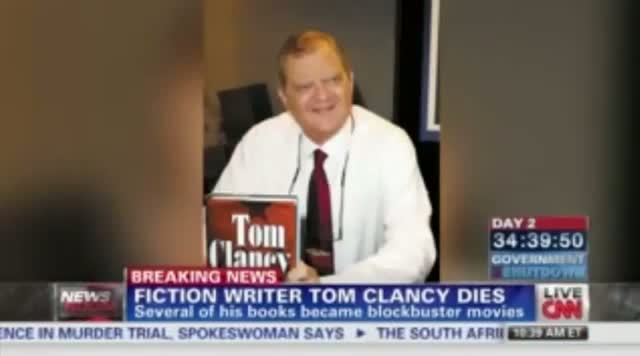 Tom Clancy Dead: Author Tom Clancy Dies At 66. R.I.P. tom Clancy Dead At 66