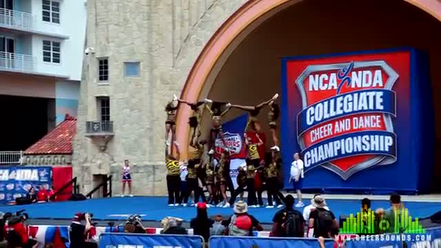 Grambling Tigers Cheer at NCA College Nationals Daytona 2013