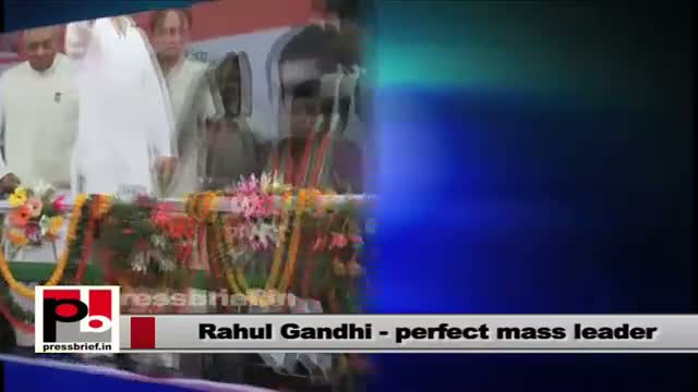 Rahul Gandhi - Perfect mass leader with commitment, always ready to learn more