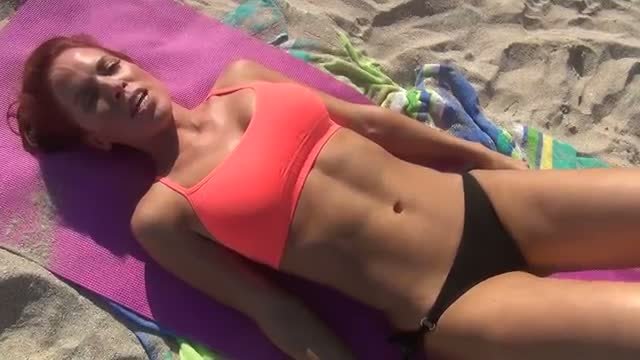 Intense Girl's $exy Bikini ABS WORKOUT!!
