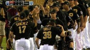 MLB: Grilli retires Descalso to seal Game 3