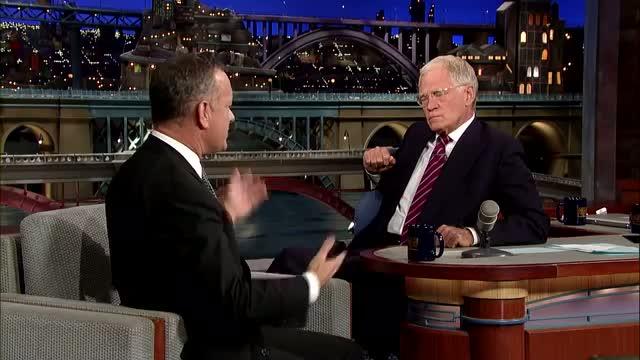 David Letterman - Tom Hanks, Somali Pirates & Forrest Gump