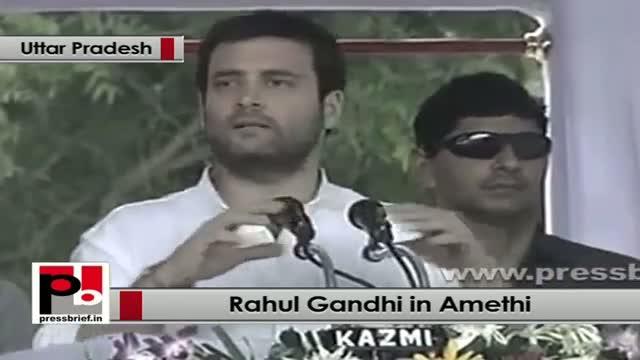Rahul Gandhi in Amethi explains the benefits of proposed mega Food Park