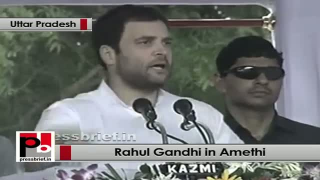 Rahul Gandhi in Amethi: Farmers will get maximum benefit from the Food park