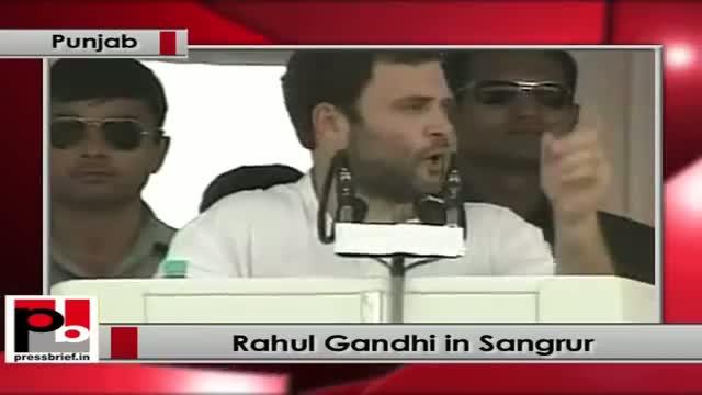 Rahul Gandhi in Sangrur (Punjab)