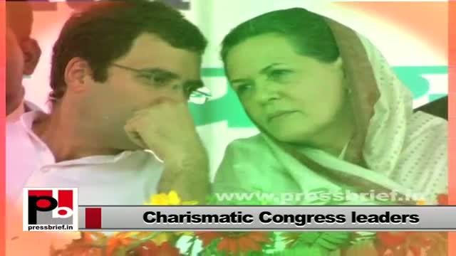 Perfect mass leaders - Sonia Gandhi, Rahul Gandhi and Priyanka Gandhi