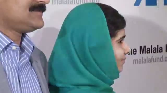 Malala Visits NY on Eve of Nobel Award