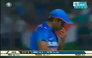 IND vs AUS 2013 T20 Highlights - 10 October 2013 - Part 3